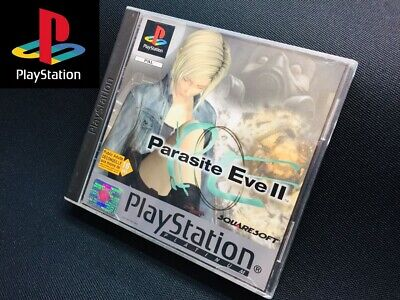 PS1 Parasite Eve II Sony PlayStation 1 FR version PAL complete manual /console