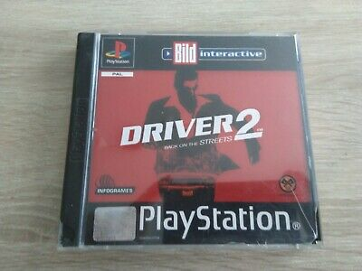 Driver 2 - Back On The Streets (Sony PlayStation 1 Classic, PS1, Spiel)