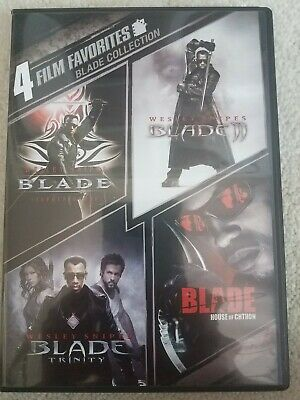 4 Film Favorites: Blade Collection [New DVD] Ac-3/Dolby Digital, Dolby, Widesc