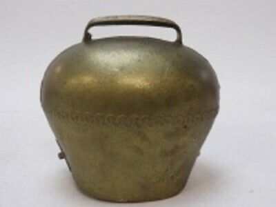 """Solid Cast Metal Goat/Cow Bell Hand-made Antique """"Great Sound"""" 5 DAYS SPECIAL!"""