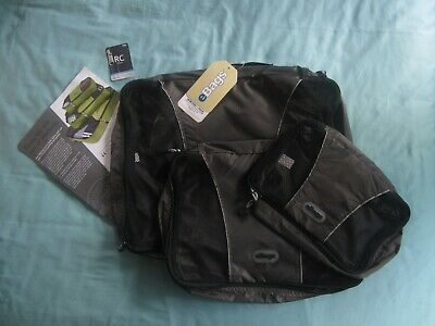 eBags Packing Cubes ~ 3 Piece Set Black, Small / Medium / Large, New with Tags