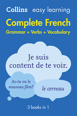 Collins Easy Learning French: Collins easy learning complete French: grammar +