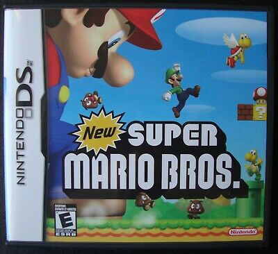 Super Mario Bros Nintendo Ds Video Game Complete Working