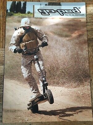 Very Rare Goped Tactical Division Brochure. Buy It Now!!