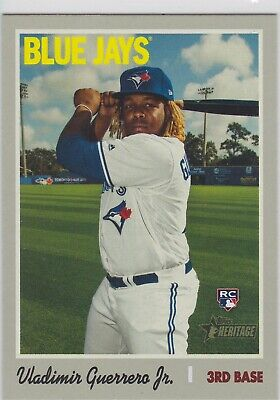 Vlad Vladimir Guerrero Jr 2019 Heritage High Number Rookie Card #504
