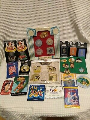 Disney DLR Pin Collection Hidden Mickey Trading Sets Cast Musical LE lot of 30