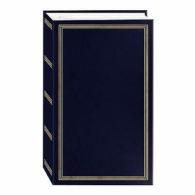 Photo Albums Navy Blue Photo Album, family album, memories  504 Pockets, *NEW*