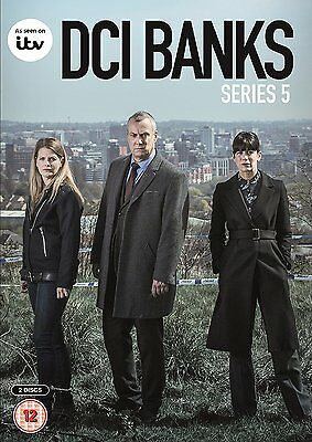 DCI Banks Complete Series 5 (2017) Region 2 PAL DVDs only!