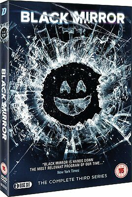 Black Mirror Christmas Special, Series 3 (3 DVDs, 2015-16) PAL R2 ONLY!!!