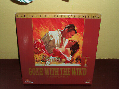 Gone With The Wind Box Set Laserdisc Deluxe Collectors Edition LD