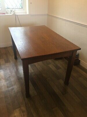 Oak Dining Table Arts And Crafts
