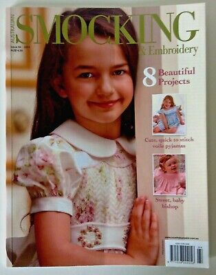 Australian Smocking & Embroidery magazine  # 94 - Gingham romper, girls pj's....