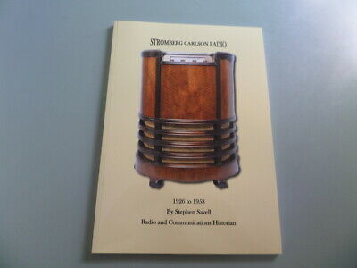 Vintage Radio book....... Stromberg Carlson radio 1926 to 1958 - 3  copies!