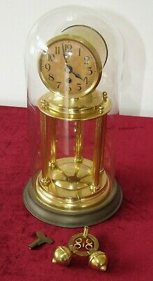 Very Rare German 2 Ball Antique Torsion Clock