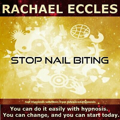 Stop Nail Biting Hypnosis CD Stop the Habit of Biting Your Nails, Hypnotherapy