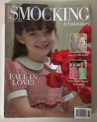 Australian Smocking & Embroidery magazine # 95 - cute angel sleeve bishops