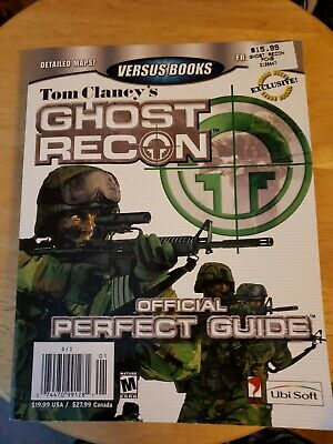 Tom Clancy's Ghost Recon Versus Books Official Perfect Guide Game Book
