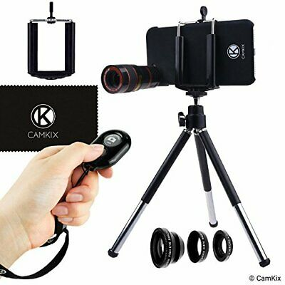 CamKix Camera Bluetooth Shutter Remote & Lens Kit Compatble with iPhone 6 / 6S a