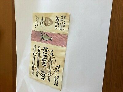 Biglietto ticket  football  AJAX-JUVENTUS  (30 may 1973) final Champions cup