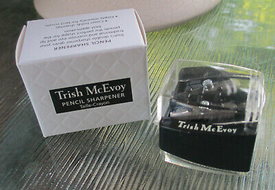 Trish McEvoy DOUBLE SIDED PENCIL SHARPENER THICK AND THIN PENCILS FULL SIZE NIB