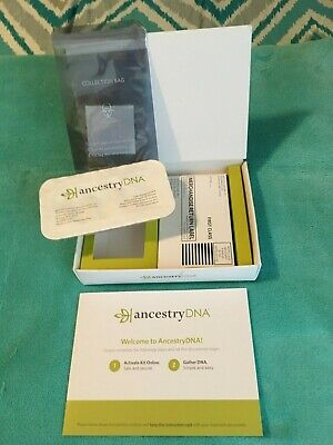 Ancestry DNA kit, all inside items intact in original seal