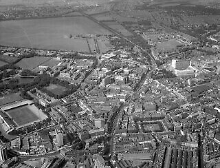 Photo:Aerial view of Newcastle upon Tyne, 1965 549