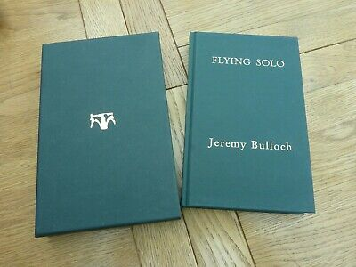 STAR WARS FLYING SOLO TALES OF A BOUNTY JEREMY BULLOCH HAND SIGNED No 321/2000