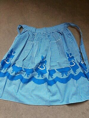 Original 1950s Apron with Lady Silhouettes
