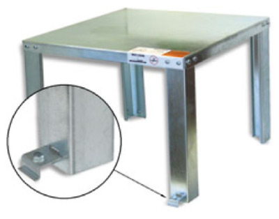 """Hold Rite Holdrite 40-S-30-U Water Heater Stand, 30"""", Up to 100 Gal"""