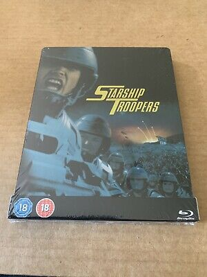 Starship Troopers Blu Ray Steelbook New & Sealed Limited Edition Paul Verhoeven