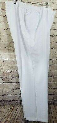 Allison Daley PLUS SIZE Women's Pull-on Pants White NWT Org. $28