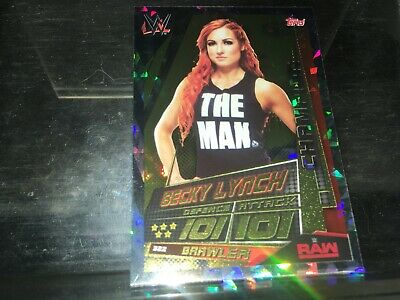 WWE SLAM ATTAX UNIVERSE 2019 CHAMPIONS CARDS # 318-349 - topps  all in stock