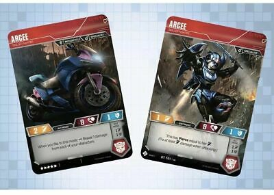 Transformers TCG - Arcee - Skilled Fighter - RT T01