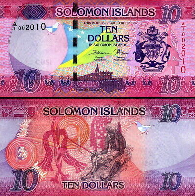 SALOMONE ISOLE - Solomon Islands 10 dollars 2017 FDS UNC