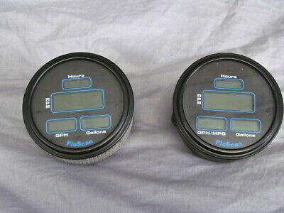 2 FlowScan Digital Fuel Monitor Systems/Gaugea (Models: P53 and N53)