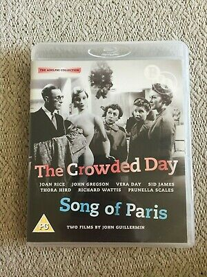 The Crowded Day (1954) / Song of Paris (1952) - Blu-ray