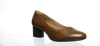 9912db645707a CLARKS WOMENS UN Cosmo Step Navy Leather Pumps Size 7 (C,D,W ...