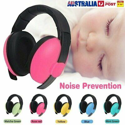 Adjustable Baby Ear Muffs Noise Cancelling Reducing Earmuffs Hearing Protect !R