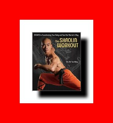 ☆Martial Arts Book:shaolin Workout:28 Days Transform Your Body+Soul To Warrior!☆