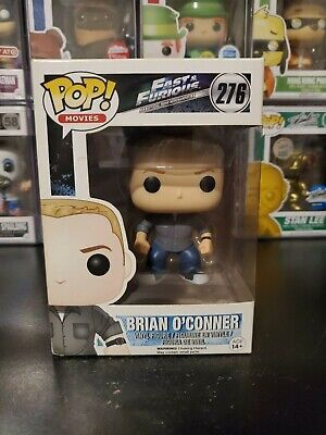 Funko Pop! Movies Fast and Furious Brian O'Conner #276 Vaulted WITH PROTECTOR!