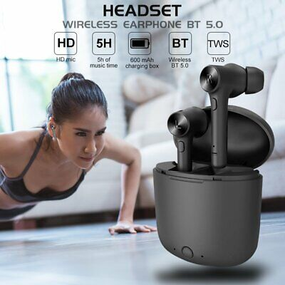 Bluedio Hi TWS Bluetooth 5.0 True Wireless Earphone Headset Sport Earbuds Stereo