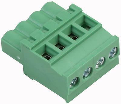 Terminal BLOCK RA PLUG 5.0MM 4 WAY Connectors terminal Blocks, terminal