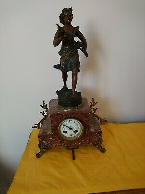 Antique french mantle clocks