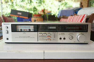 Technics RS-M216 Stereo Cassette Deck (1982) Working Great JAPAN