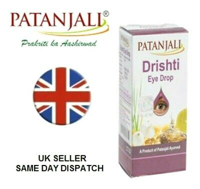 Patanjali Dristi Eye Drops Increasing Ayurvedic Sight Problem Vegetarian Halai