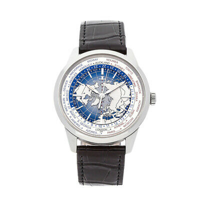 Jaeger-LeCoultre Geophysic Universal Time Auto Steel Mens Strap Watch Q8108420