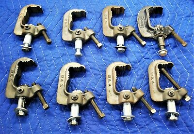 8 Cast Iron C Clamps For Lighting-Heavy Duty Industrial Grade-Gpp Brand-7 Of 10