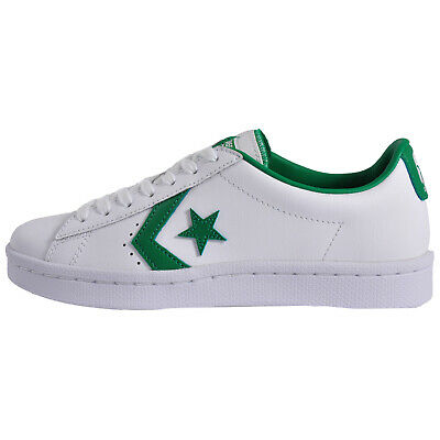 CONVERSE ALL STAR Pro Leather Ox Uni Classic Casual Plimsol Leather Trainers