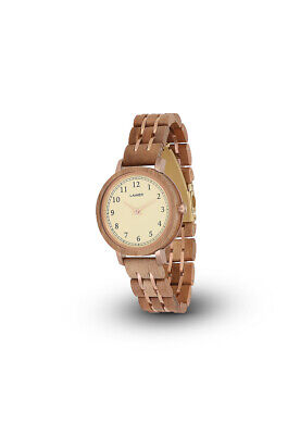 Laimer Eva Ladies Wooden Watch 0088 Holzband 36 mm B-Stock
