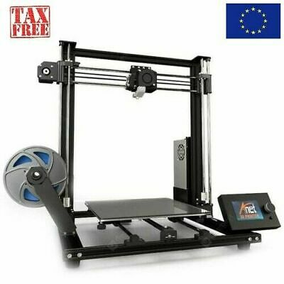 Anet A8 Plus 300*300*350mm Upgraded 3D Printer Magnetic Move Screen Dual Z-axis
